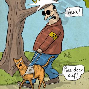 Dorthe Landschulz - Blindenkatze