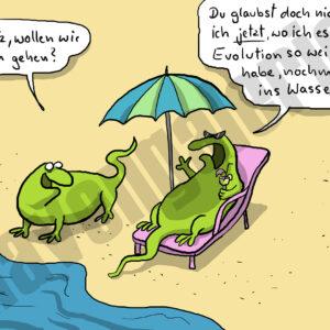 Dorthe Landschulz - Echse Baden