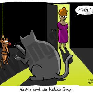 Dorthe Landschulz - Katzen Grey