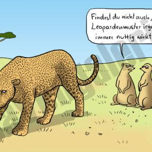 Dorthe Landschulz - Leopardenmuster