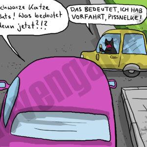 Dorthe Landschulz - Schwarze Katze