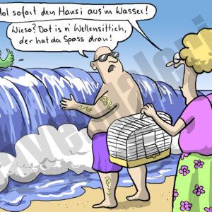 Dorthe Landschulz - Wellensittich